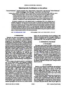 Epitaxial growth of sexithiophene on mica surfaces - pubdb