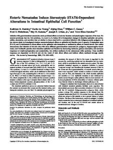 Epithelial Cell Function STAT6-Dependent Alterations in Intestinal ...