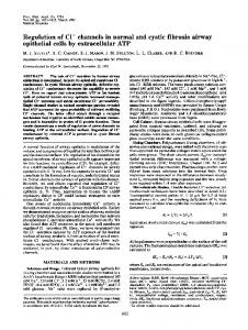 epithelial cells by extracellular ATP