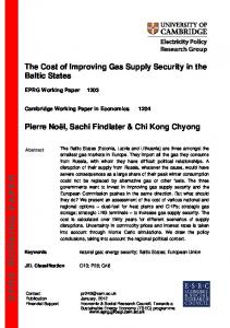 eprg working paper