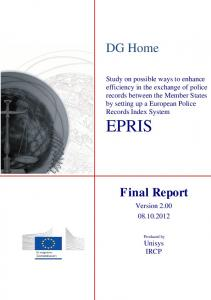 EPRIS - European Commission - Europa EU