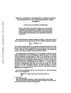 Ergodic Actions of Convergent Fuchsian groups on quotients of the