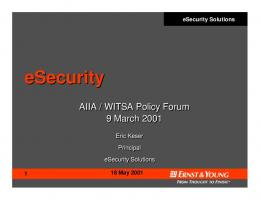 eSecurity - World Information Technology And Services Alliance