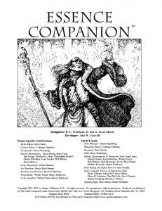 Essence Companion - The Guild Companion