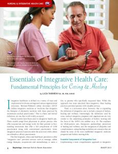 Essentials of Integrative Health Care: