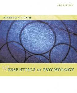 Essentials of Psychology, Fourth Edition
