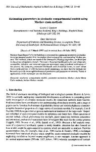 Estimating parameters in stochastic compartmental ... - Oxford Journals