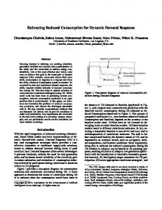 Estimating Reduced Consumption for Dynamic Demand Response