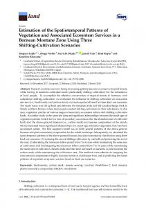 Estimation of the Spatiotemporal Patterns of Vegetation and ... - MDPI