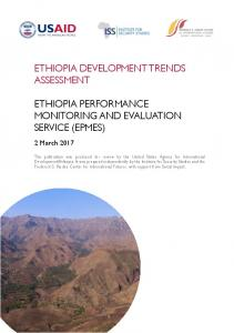 ethiopia development trends assessment ethiopia ...