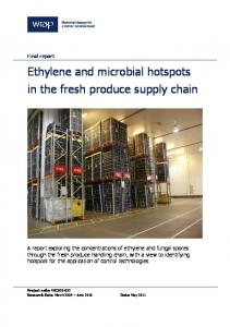 Ethylene and microbial hotspots in the fresh produce supply ... - Wrap