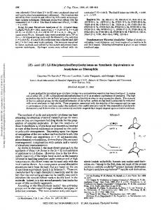 ethylenes as synthetic equivalents to acetylene as