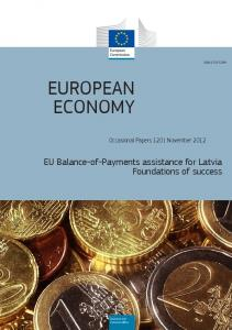 EU Balance-of-Payments assistance for Latvia - European Commission