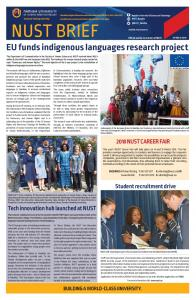 EU funds indigenous languages research project - NUST