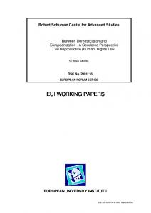 eui working papers - Core