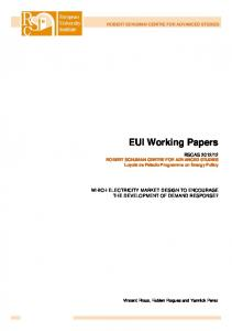 EUI Working Papers