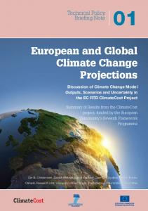 European and Global Climate Change Projections - ClimateCost ...