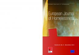 European Journal of Homelessness - Feantsa