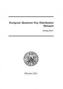 European Quantum Key Distribution Network - Ludwig-Maximilians ...