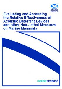 Evaluating and Assessing the Relative Effectiveness ...