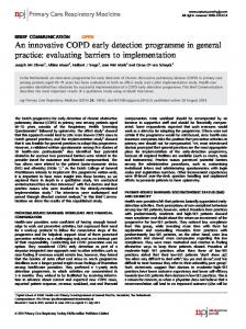 evaluating barriers to implementation - Semantic Scholar