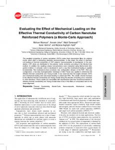 Evaluating the Effect of Mechanical Loading on the