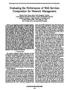 Evaluating the Performance of Web Services ... - IEEE Xplore