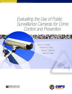 Evaluating the Use of Public Surveillance