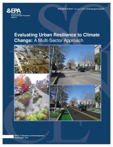Evaluating Urban Resilience to Climate Change