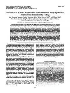 Evaluation of a Novel Automated Chemiluminescent Assay System for ...