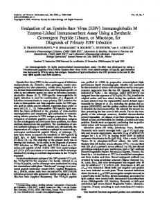 Evaluation of an Epstein-Barr Virus (EBV) - Journal of Clinical