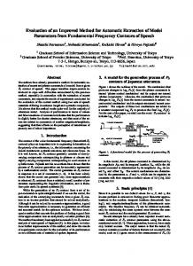 Evaluation of an Improved Method for Automatic