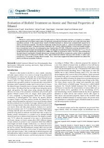 Evaluation of Biofield Treatment on Atomic and ... - Science Media