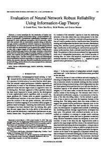 Evaluation of Neural Network Robust Reliability Using ... - IEEE Xplore