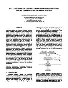 evaluation of on-chip multiprocessor architectures for