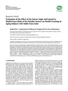 Evaluation of the Effect of the Sulcus Angle and Lateral to Medial ...