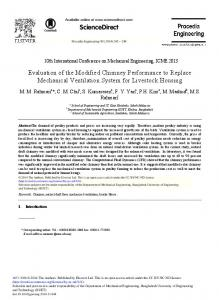 Evaluation of the Modified Chimney Performance to ... - Science Direct