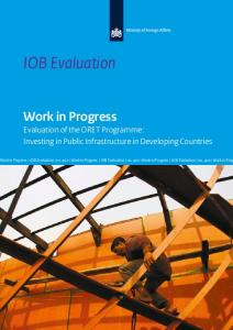 Evaluation of the ORET Programme