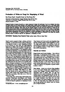 Evaluation of White-rot Fungi for Biopulping of ... - KoreaMed Synapse
