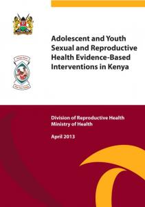 Evidence-based Adolescents and Youth Sexual and ... - FHI 360