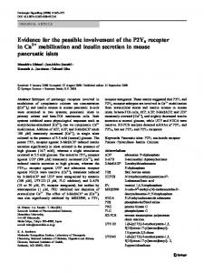 Evidence for the possible involvement of the P2Y6 receptor in Ca 2 ...
