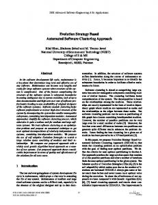 Evolution Strategy Based Automated Software ... - IEEE Xplore
