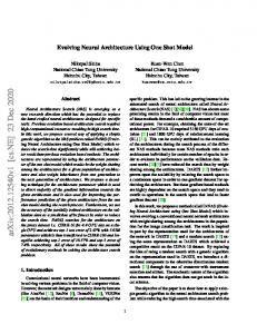 Evolving Neural Architecture Using One Shot Modelwww.researchgate.net › publication › fulltext › Evolving-
