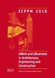 eWork and eBusiness in Architecture, Engineering