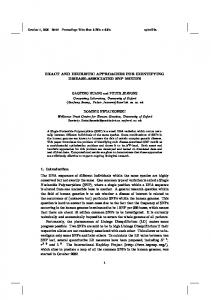 EXACT AND HEURISTIC APPROACHES FOR ... - NUS Computing