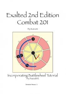 Exalted 2nd Edition Combat 201 - Exalted 2e Character Sheets
