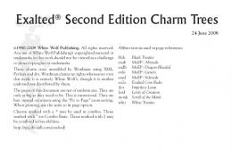 Exalted Second Edition Charm Trees