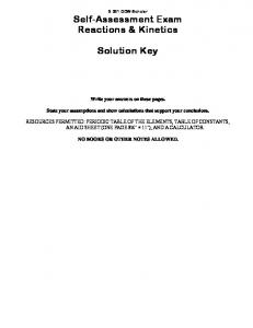 Exam solutions key (PDF)