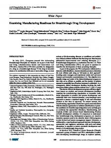 Examining Manufacturing Readiness for Breakthrough ... - Springer Link