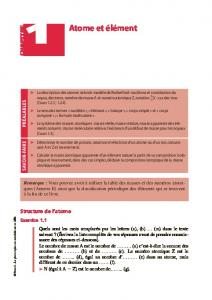 Exercices resolus de chimie physique - Numilog